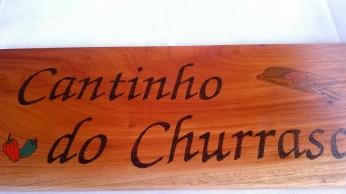 Placa p/ churrasqueira